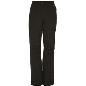 Maier Sports Vroni Slim Pantalones Stretch MTEX Mujer, negro